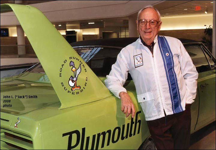 Jack Smith and the Plymouth Road Runner