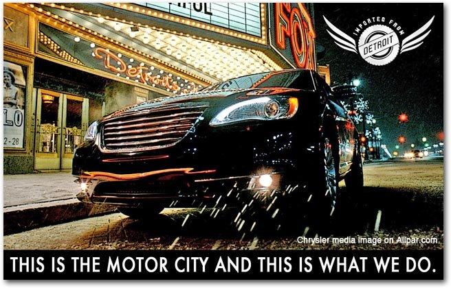 Chrysler 200 - Super Bowl Ad