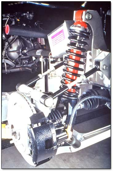 Suspension on 1997 Chrysler Pt Cruiser