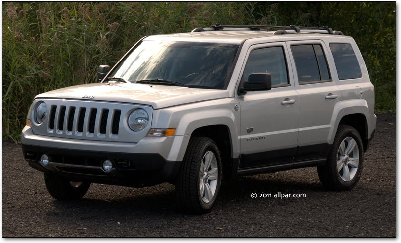 Jeep Patriot (allpar photo)