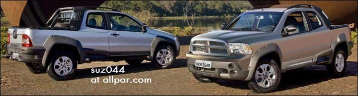 ram trucks pickups upcoming dodge pickup mexico 1200 sold jeep cars suvs mitsubishi