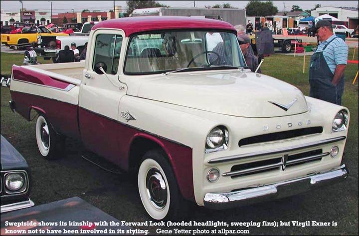 1957 dodge w100 sweptside pickup