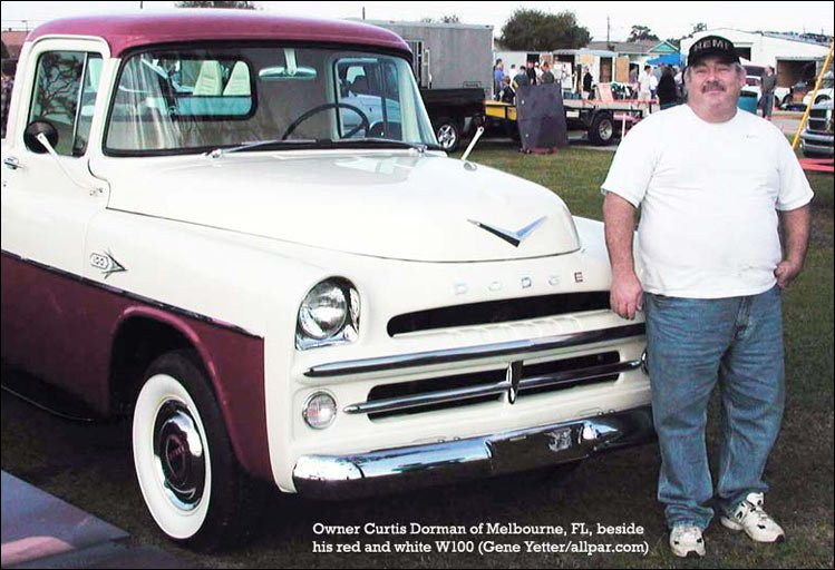 dodge sweptside W100 truck