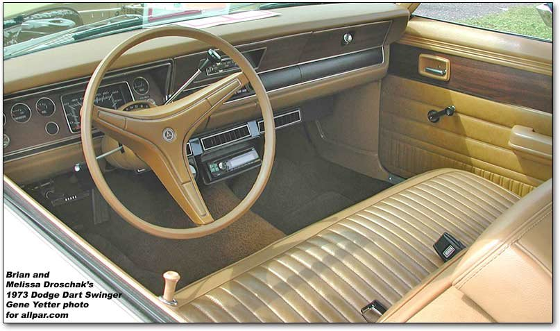 1973 swinger - inside