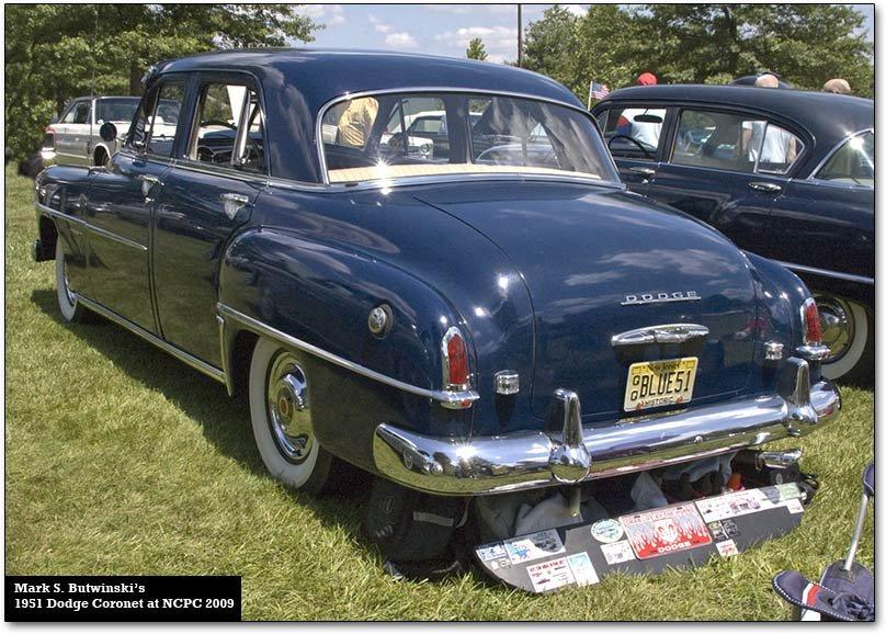 Dodge Coronet cars, 1949-75