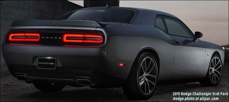 tail t2015 dodge challenger - Dodge Challenger 2015 Srt8