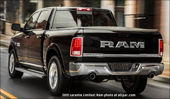 Top luxury truck: 2015-2016 Ram Laramie Limited