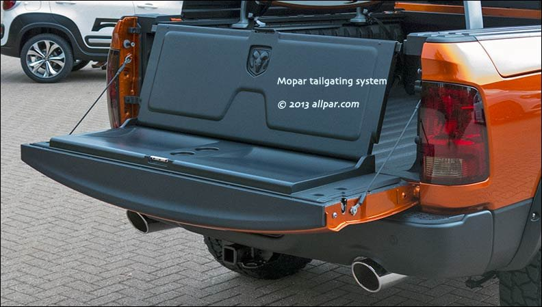 Mopar concept cars for SEMA 2013: Ram Sun Chaser