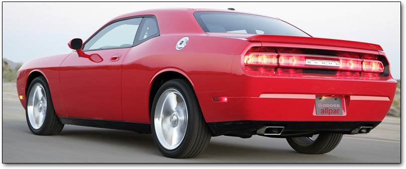 challenger tail lights