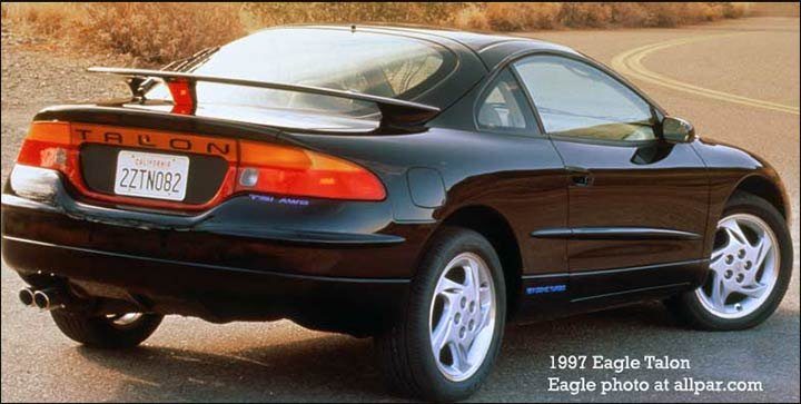 The Eagle Talon Top Chrysler Version Of Mitsubishi Eclipse Sports Car Was Added To Ranks As Well It Fairly Successful Gaining Some