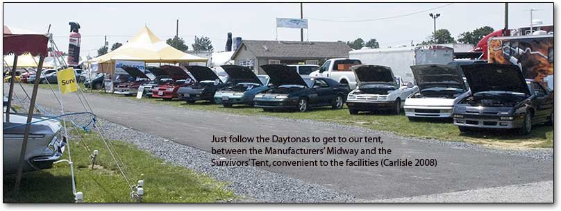 tent and daytonas
