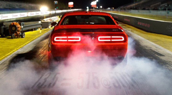 When The 2018 Dodge Challenger SRT Demon Launches, It Creates More Gs Than  Any Production Road Car Ever With Its Stock Tires U2013 Reaching 1.8Gs. 1.8Gs  ...