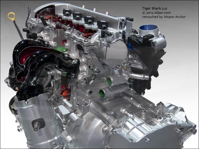 2.4 liter multiair engine