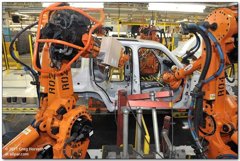 Chrysler Toledo Plant Tours