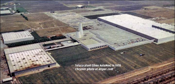 Chrysler toluca mexico plant