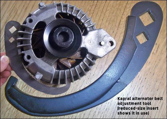 alternator belt adjustment tool