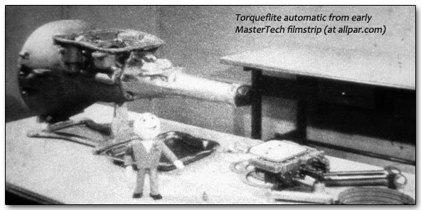 Tom Hand on fixing the Chrysler torqueflite automatic transmission