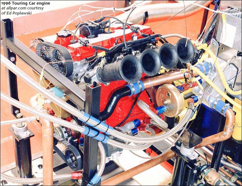 touring car engine