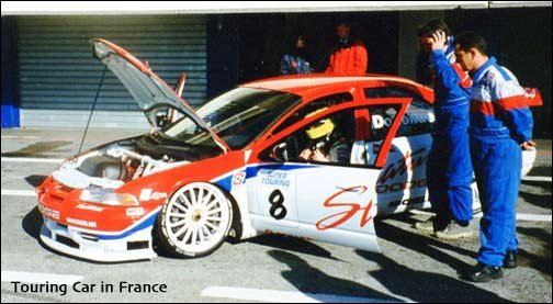 touring car in France