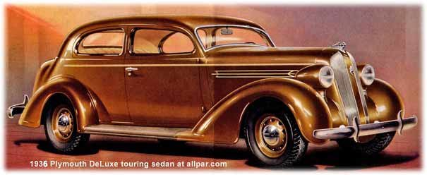 Illustrated plymouth buyer 39 s guide plymouth 1935 1939 for 1935 plymouth 4 door sedan