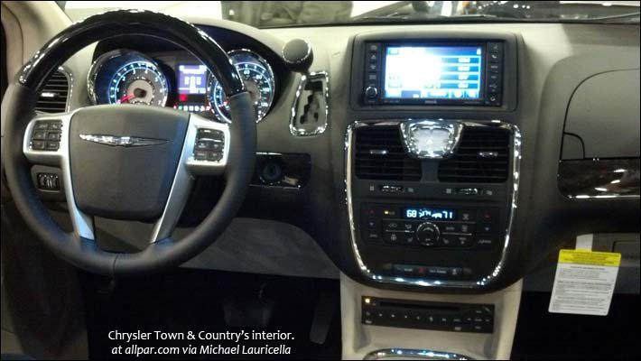 Town & Country interior