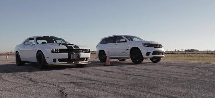 Jeep VS Hellcat