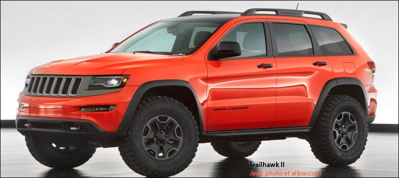 Jeep Grand Cherokee Trailhawk: 2013 Moab concept