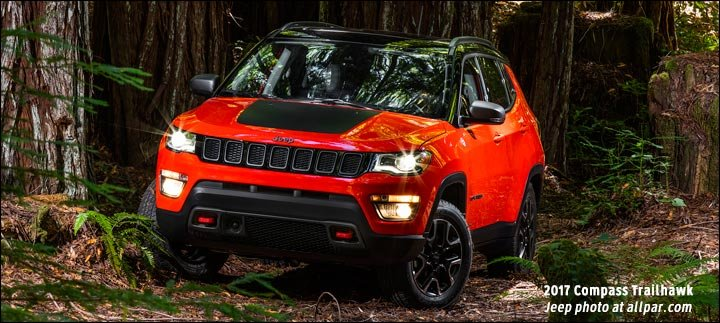 New Compass Trailhawk