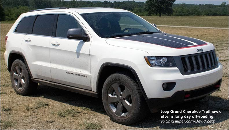 2013 Jeep Grand Cherokee Trailhawk The Most Capable Luxury Suv In