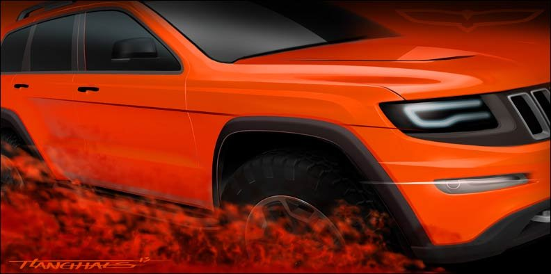 Jeep Grand Cherokee Trailhawk 2013 Moab Concept