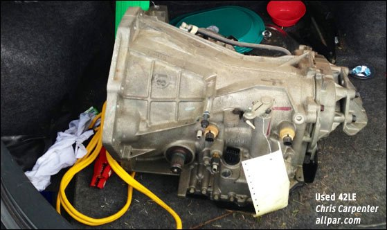 diagnosing and replacing a chrysler 42le transmission
