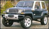 Treo: Bug-eyed, light, airy Jeep concept