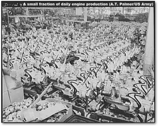 truck engines at the Dodge plant for war production