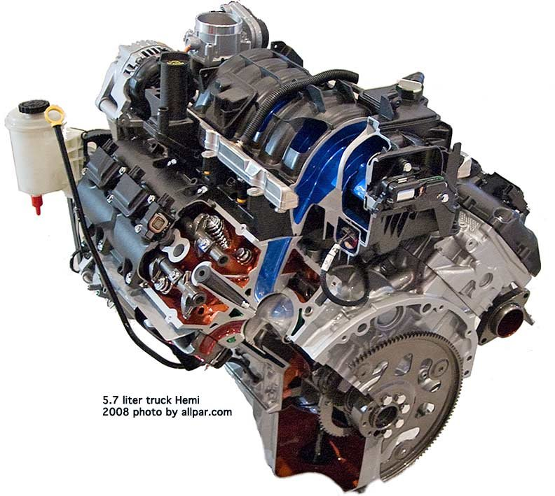 the modern 5 7 mopar hemi v8 engine rh allpar com 5.2 Liter Dodge Crate Engine 5.2 Liter Dodge Crate Engine