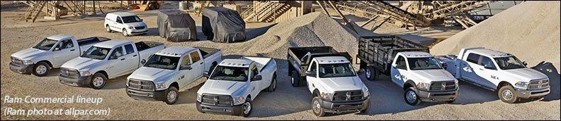 Ram truck lineup