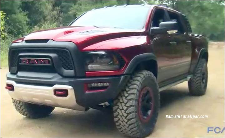 News: Supercharged Rebel TRX: 100+ mph, offroad (video)