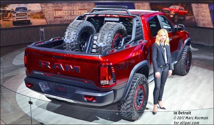 100 Mph Off Road 2017 Ram Rebel Trx Concept Pickup Truck