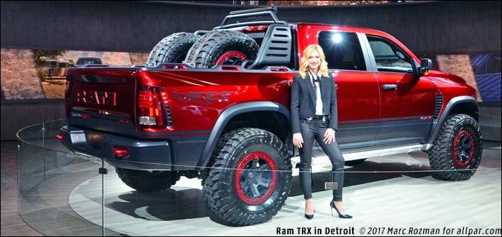 100 Mph Off Road 2017 Ram Rebel Trx Concept Pickup Truck