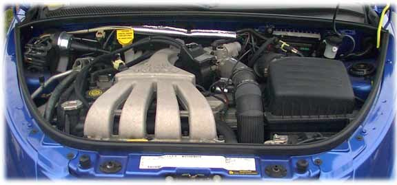 The 2.4 liter four-cylinder Chrysler-Dodge engine