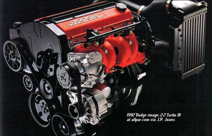 Mopar (Chrysler, Dodge, Plymouth) 2 2 turbo engines: mild to hot power