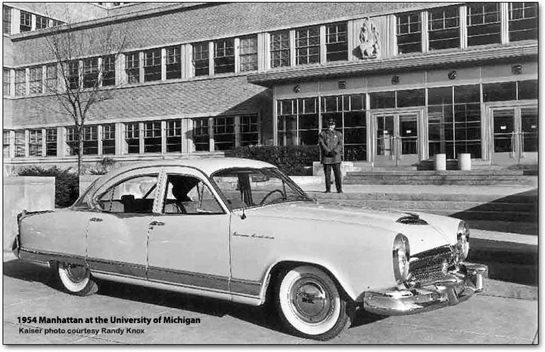 1954 kaiser manhattan outside toledo plant
