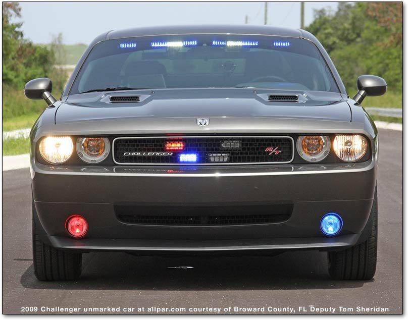 Dodge Challenger squad cars