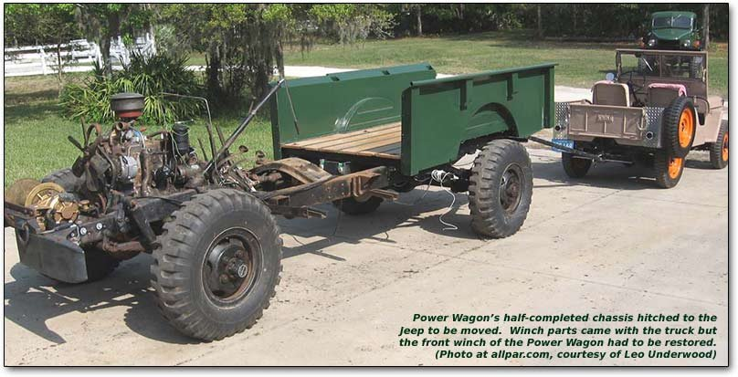 Leo Underwood's Vintage Dodge and Willys Military Trucks