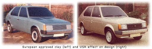 Chrysler Horizon vs Dodge Omni