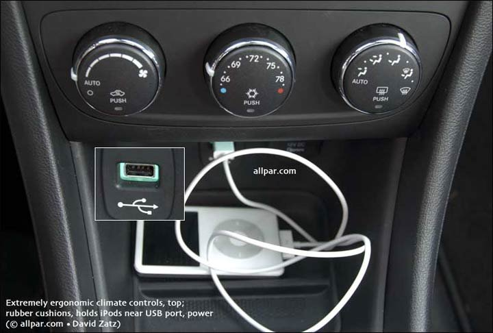 USB and climate control