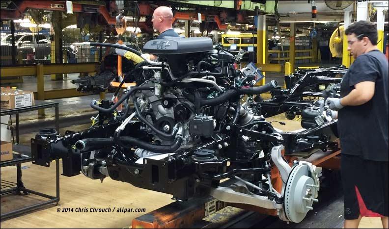Building the 2015 Ram 1500 at Warren Truck, Michigan
