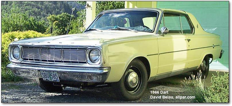 Used Dodge Dart >> 1963-1966 Dodge Dart Buyer's Guide for Restoration