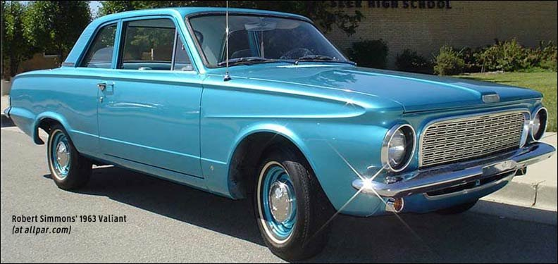 1963 Plymouth Valiant cars