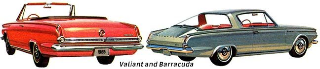 Valiant and Barracuda