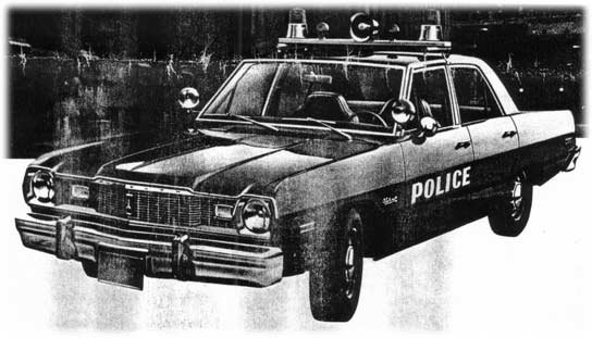 Dodge Dart And Plymouth Valiant Police Cars And Pursuit Package